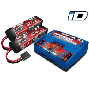 [CB2990] Battery/charger completer pack (includes #2972 Dual iD charger (1), #2872X 5000mAh 11.1V 3-cell 25C LiPO battery (2))