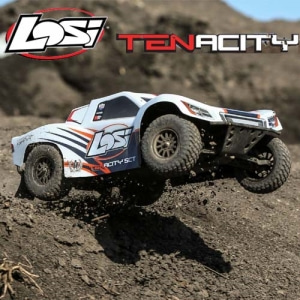 테나시티 LOSI Tenacity SCT 4WD Short Course Truck AVC 1:10 RTR (white/orange)