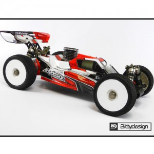 [BDFRC-LR4.0] BITTY DESIGN Force Clear body for TLR 8ight 4.0 (에이트 4.0 바디)