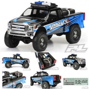 AP3484 Utility Bed Clear Body for Honcho Style Crawler Cabs