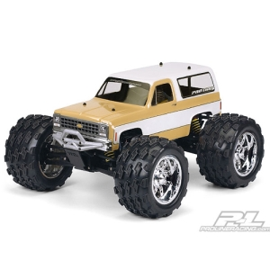 AP3244 1980 Chevy Blazer Clear Body for T/E/2.5-MAXX, REVO, Savage and 1:10 Crawler