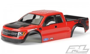 AP3348-15 Pre-Painted/Pre-Cut Ford F-150 Raptor SVT Body for Stampede