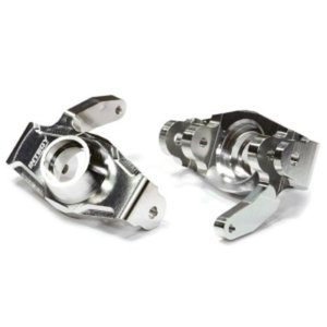 T6721SILVER Billet Machined Steering Knuckle for HPI Savage X 4.6 2011, Flux & Savage XL