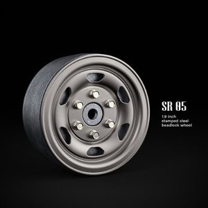 GM70507 SR05 1.9inch beadlock wheels (Uncoated steel) (2)