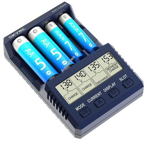 (미니지, 타미야 미니카) SK-100154-01 SKY RC NC1500 AA/AAA Battery Charger/Analyzer