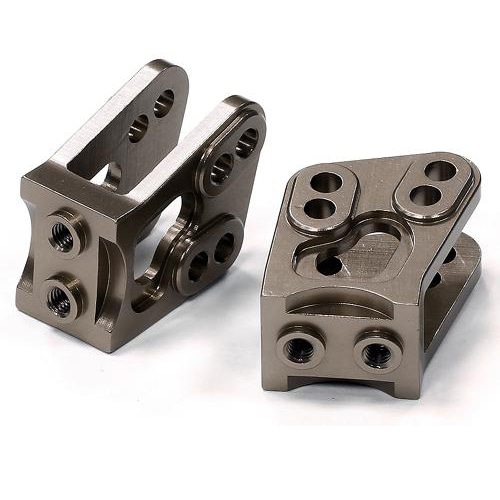 Billet Machined Alloy T4 Lower Suspension Link Mount (2) for Axial Wraith 2.2 C24531GUN
