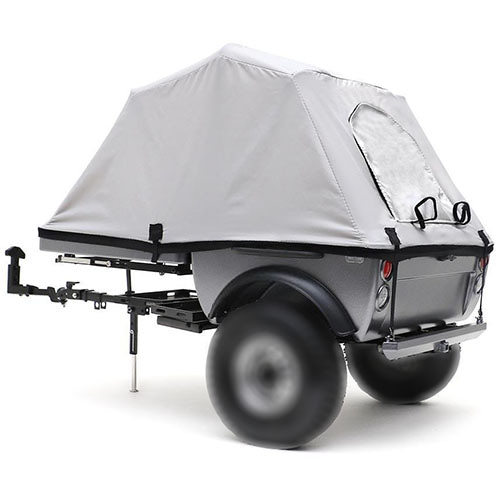 [#TRC/302378A] 1/10 Pop-Up Camper Tent Trailer Kit (Use Your Own Wheels & Tires)